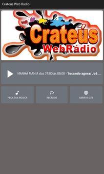 Crateús Web Rádio poster