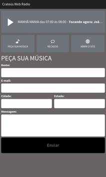 Crateús Web Rádio screenshot 1