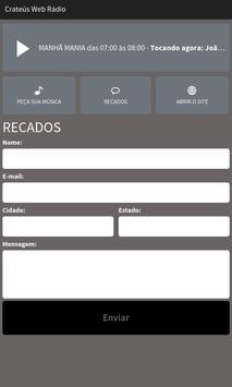 Crateús Web Rádio screenshot 2