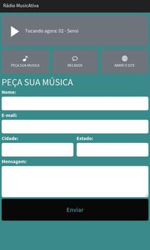 Rádio MusicAtiva screenshot 1