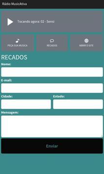Rádio MusicAtiva screenshot 2