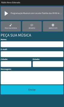 Rádio Novo Eldorado screenshot 1
