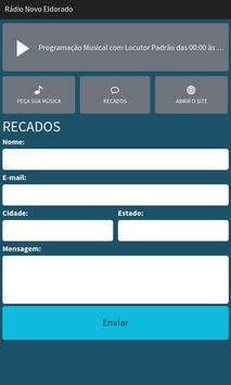 Rádio Novo Eldorado screenshot 2