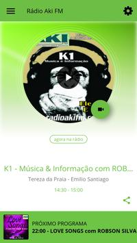 Rádio Aki FM poster