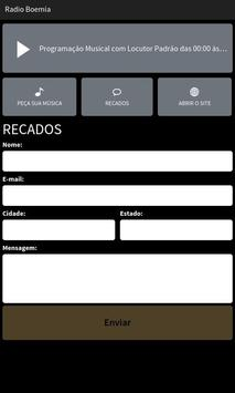 Web Rádio Boemia apk screenshot
