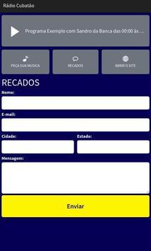 Rádio Cubatão screenshot 2