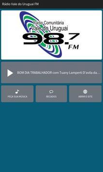Rádio Vale do Uruguai FM poster