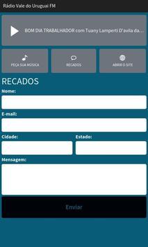 Rádio Vale do Uruguai FM apk screenshot