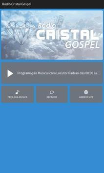 Rádio Cristal Gospel poster