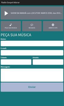 Rádio Gospel Adorar screenshot 1