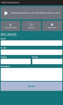 Rádio Gospel Adorar screenshot 2