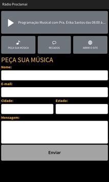 Rádio Proclamai screenshot 1