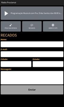 Rádio Proclamai screenshot 2