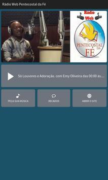 Rádio Web Pentecostal da Fé poster