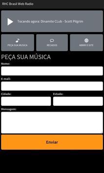 RHC Brasil Web Rádio screenshot 1