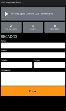 RHC Brasil Web Rádio screenshot 2