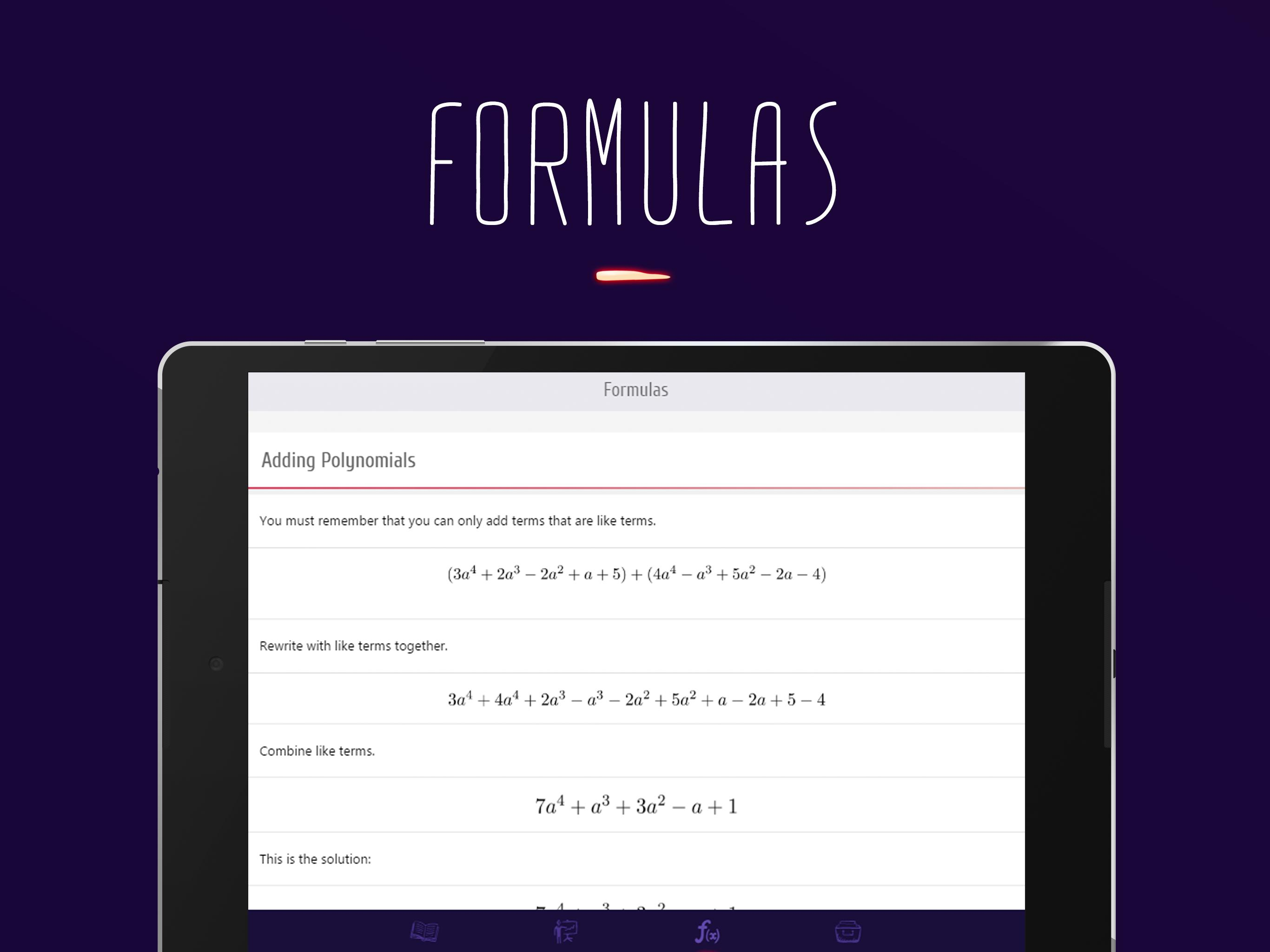 College Algebra for Android - APK Download
