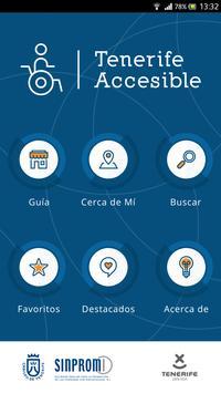 Tenerife Accesible poster