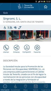 Tenerife Accesible apk screenshot