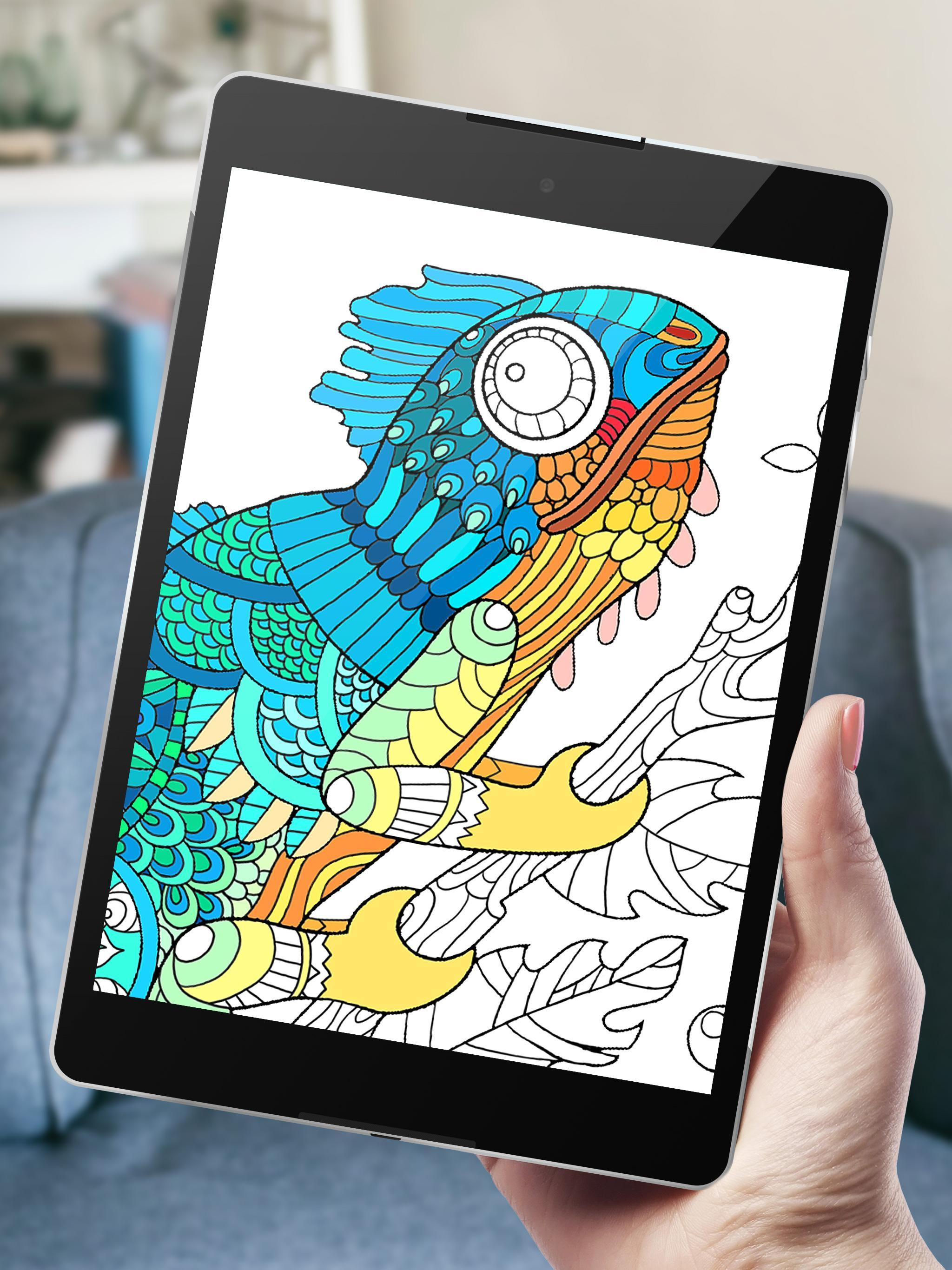 52 Animals Coloring Book App Free