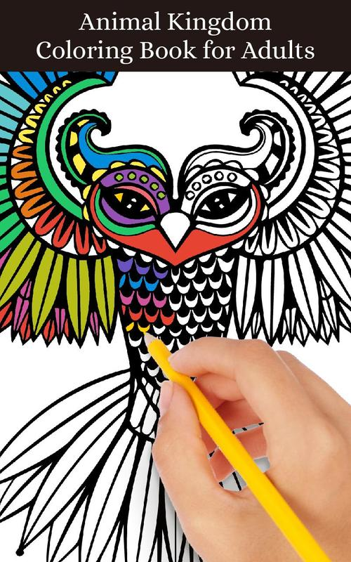Adult Coloring Pages Animals APK Baixar
