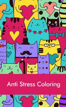 Doodle Coloring Book For Adult Poster Apk Screenshot