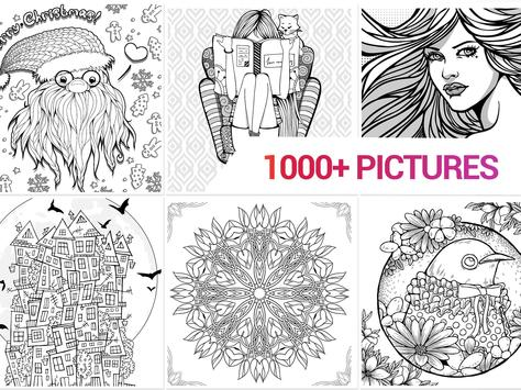 Color Me | Free Adult Coloring Book for Adults App poster