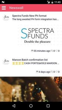 Spectra Funds poster