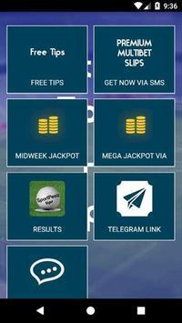 Sport Pesa Tips App poster