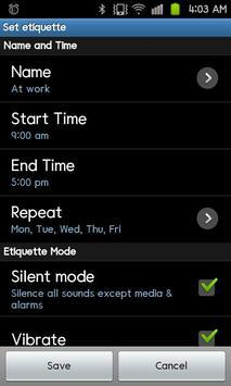 Silent Timer, Sleep Timer Lite apk screenshot