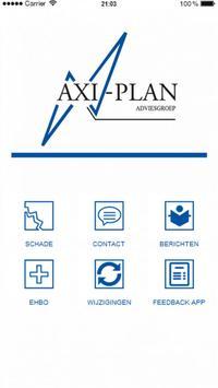 Axi-Plan Adviesgroep poster