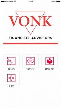 VONK financieel adviseurs poster