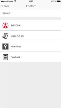 VONK financieel adviseurs apk screenshot