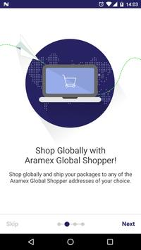 Aramex Global Shopper apk screenshot