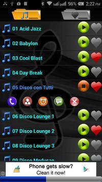 Disco Lounge Free Ringtones screenshot 1