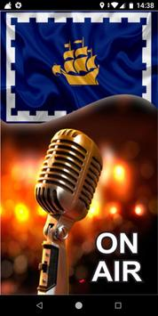 Quebec City Radio Stations - Canada poster