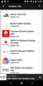 Quebec City Radio Stations - Canada screenshot 5
