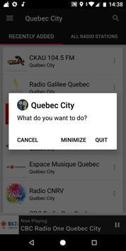 Quebec City Radio Stations - Canada screenshot 6