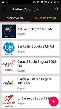 Colombian Radio Stations screenshot 1