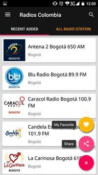 Colombian Radio Stations screenshot 2