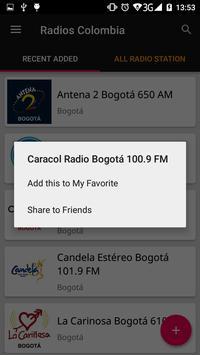 Colombian Radio Stations screenshot 3