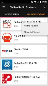 Chilian Radio Stations screenshot 1