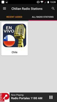 Chilian Radio Stations screenshot 3