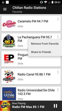 Chilian Radio Stations screenshot 5