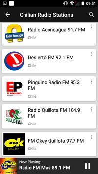 Chilian Radio Stations screenshot 6