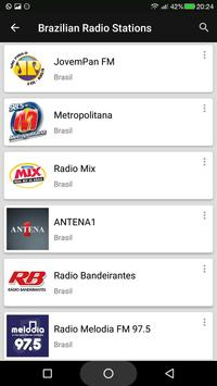 Brazilian Radio Stations screenshot 2