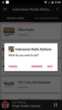 Indonesian Radio Stations screenshot 7