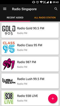 Singapore Radio Stations screenshot 1