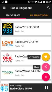 Singapore Radio Stations screenshot 2