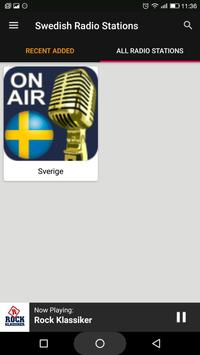 Swedish Radio Stations screenshot 4